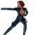 Black Widow Popping Out Of Her Suit ~ Marvel Cinematic Universe